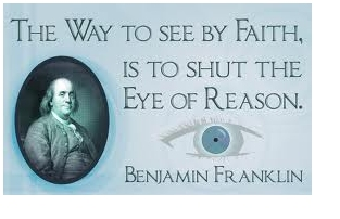 Franklin on faith and reason