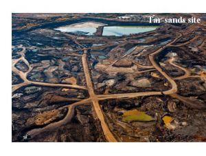 tar sand site