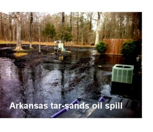 tarsands oil spill