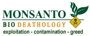 Monsanto Death Logo